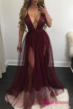 Burgundy Prom Dresses,Wine Red Evening Gowns,Modest Formal Dresses,Burgundy Prom Dresses,Evening Dress,Long Evening Gowns PD20187138