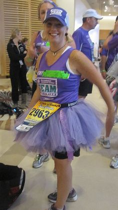 How to Make a Tutu. Directions for an adult runner. (For my running friends)  @B R O O K E // W I L L I A M S McDonald @Amanda Snelson Bowen @Katie Hrubec Maynard @Rebekah Ahn Bradley
