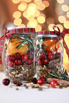 Christmas in a Jar – mulling spices For teachers?  Cuddle up and get cozy!