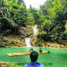 #morefuninthephilippines #Philippines Dam-agan Falls in Tagbilaran City,