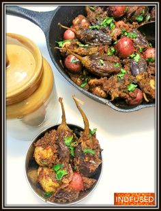 Bharli Vaangi-#Scrumptious  #Indian #recipe for #stuffed #eggplant