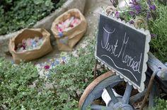 Idea para bodas: pizarras para decorar