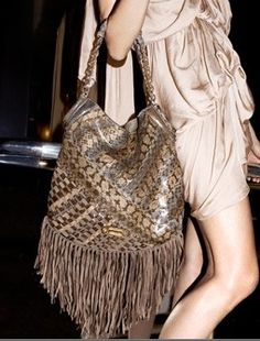 Jimmy Choo Tatum snakeskin shoulder bag. I've longed for this bag for over a year...I'm in love.