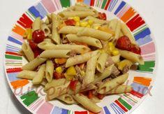 Ζεστή μακαρονοσαλάτα με τόνο και σάλτσα μουστάρδας - tromaktiko Pasta Salad, Ethnic Recipes, Food, Crab Pasta Salad, Essen, Meals, Yemek, Eten