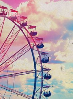 ferris wheel pastel