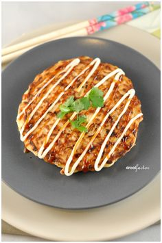 Okonomiyaki! Japanese exchange students made this for me ages ago, but they used pork. I've been wanting to try it again ever since.