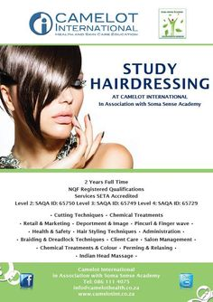 Hairdressing Courses! Call now for more details 011 823 3344