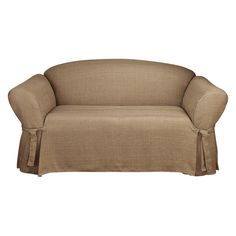 cool couch slipcovers. Mason Loveseat Slipcover Cocoa (Brown) - Sure Fit Cool Couch Slipcovers