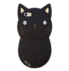 Mio - Meet Mio - He is a cuddly and protective kitty who promises to guard your phone! This large phone case is a statement piece that will turn heads when you hold this kitty up close to your face. This iPhone 5/5S phone case is available in three colours making it a fun way to play up your love for these furry friends we all adore. Mio promises to be the purrfect companion and stay quiet when you're on the phone!