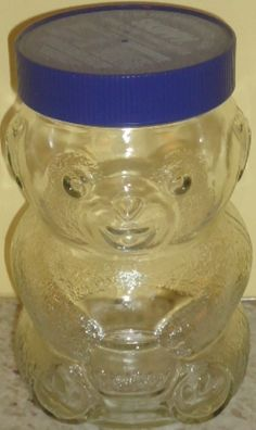 Small Skippy bear peanut Butter jar cookie jar Peanut Butter Jar, The Good Old Days, Cookie Jars, Vintage Kitchen, Coffee Shop, Mason Jars, Gems, Good Things, Cookies