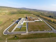 Completed in 2009 in Modra, Slovakia. Images by Tomaš Manina, Juraj Bartoš. The facility is located in the central part of the site (25 000m2) in one of the most famous wine regions of Slovakia – the Small Carpathian wine...