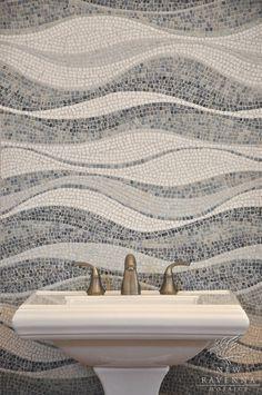 tiny mosaic tiles