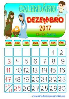Calendário reformulado - dezembro 2017