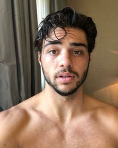 This beard shot. Literally Just 16 Really Hot Photos Of Noah Centineo AKA Peter Kavinsky Cameron Boyce, Teen Wolf, The Fosters, Youtubers, Noah, Dream Guy, Attractive Men, American Actors, Hottest Photos