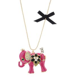 Betsey Johnson... I have this in black, and the matching bracelet.  So cute :)