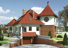 Sielawa Fot. Archeton #projekty #domowy #domzwieżą #oryginalny #dom