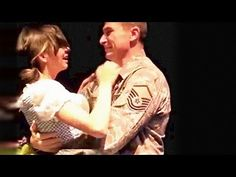 """[VIDEO] U.S. Airman Surprises Daughter During High School Theater Play  