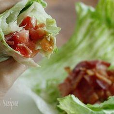 Lettuce BLT wraps