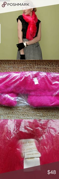 [NWT] kate spade NY Bisous Tippet Shipping cost seem to high for one low-priced item? --> Bundle & SAVE! All of my items are ready to ship.  ++++++++++  Brand new with tags / in bag!  Get it now while available for the Fall/Winter season :) kate spade Accessories Scarves & Wraps