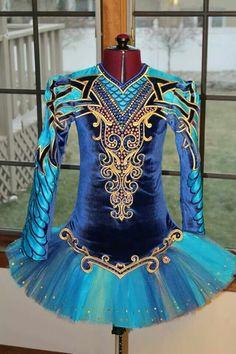 IDentify You Irish Dance Solo Dress Costume - front -