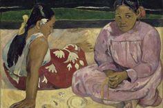 O quadro Femmes de Tahiti (Mulheres do Taiti), de Paul Gauguin, é uma das obras da mostra O Triunfo da Cor | Divulgação/RMN-Grand Palais (Musée d'Orsay)/Hervé Lewandowski