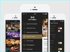 If you are going to design an hotel mobile apps ui design or you are going to start a new travel apps then we have got some inspiration here. Here you can see a list of great hotel app ui design fo… Mobile Ui Design, App Ui Design, Restaurant Specials, Restaurant Bar, Hotel App, Hotel Services, Ui Elements, Web Design Inspiration, Wall Design