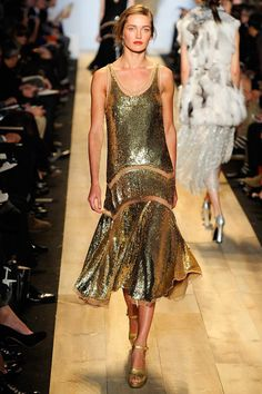 2. Contemporary- Michael Kors Fall 2012, 1930 inspired dress style with emphasis on the hemline