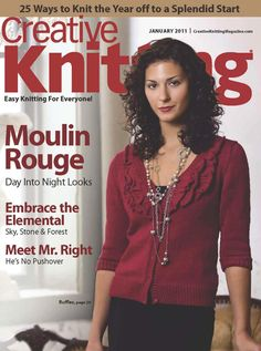 A diverse collection of magazines about knitting. Simply Knitting, How To Start Knitting, Easy Knitting, Learn To Crochet, Crochet Magazine, Knitting Magazine, Crochet Patterns For Beginners, Knitting Patterns, Hand Crochet