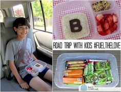 BentoLunch.net - What's for lunch at our house: Road-tripping with Kids, Food Edition #FuelTheLove