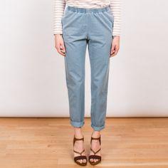 trouser w/ elastic waist // apc