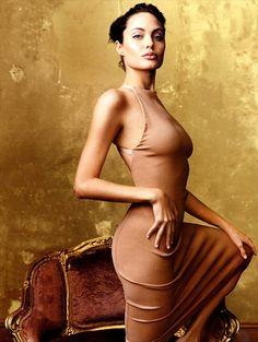 Анджелина Джоли, фотограф Энни Лейбовиц