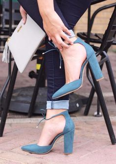 Steve Madden | Pampered Heels | Blue | Heels | Fall 2016 | Fashion | Sabi Boutique |