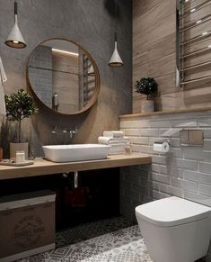 mater bathroomisvery important for your home. Whether you choose the small bathroom storage ideas or diy bathroom remodel ideas, you will make the best bathroom remodeling for your own life. Beton Design, Luminaire Design, Concrete Design, Wc Design, Concrete Lamp, Lamp Design, Diy Bathroom Decor, Bathroom Colors, Small Bathroom