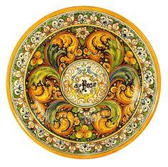 VENEZIA: Large Wall Plate (26D)