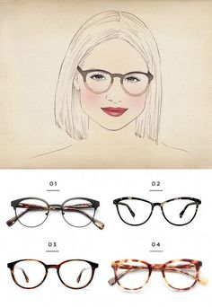4d282125ad6 Because the goal is to wear frames that balance out your face shape