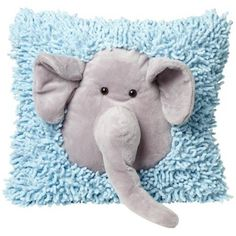 Plush Elephant Blue and Gray Accent Pillow http://www.lampsplus.com/products/plush-elephant-blue-and-gray-accent-pillow__w7477.html#