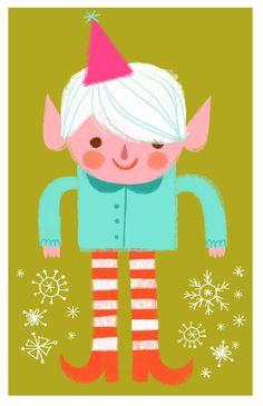 Twinkle Toes Elf by Sarah Walsh
