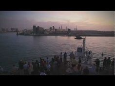 www.cruisejournal.de #Cruise #Kreuzfahrt #AIDAblu AIDA Traummoment - AIDAblu beim Auslaufen aus Abu Dhabi