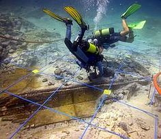 © Archive Catalonia Underwater Archaeology Centre  Excavation of the Archaic Greek vessel of Cala Sant Vicenç, Pollensa, Mallorca Island, Spain