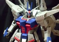 ZGMF-X666S Legend Gundam (Colored Ver.) Papercraft Free Template Download