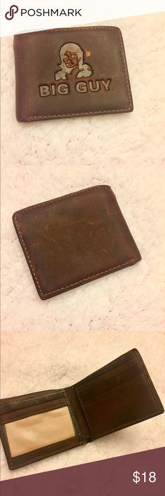 Men's MJ leather wallet 👞 Micheal Jackson themed leather wallet. Bifold with 3 credit card slots and ID flap window, 1 bill compartment. Great collectors item. Brand new and Never been used! Bags Wallets
