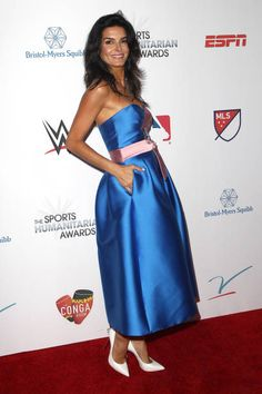 Angie Harmon Attends The 3rd Annual Sports Humanitarian Of The Year Awards  At The Novo By