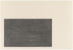 Frank Stella. Bethlehem's Hospital from Black Series I. 1967