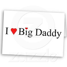 """Thank you Ms K for purchasing """"I Heart Big Daddy Cards"""" by Khoncepts"""