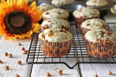 #MuffinMonday: Banana Cinnamon Chip Muffins @Trent Butts-Ah Rhee