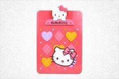 Hello Kitty clip board