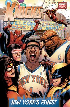 8c2b462cc ESPN x Marvel Comics - NBA Team Covers - SneakerNews.com. Nba PreviewNew  York KnickerbockersAmar e StoudemireBasketball ...