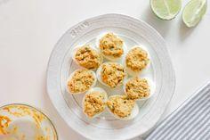 Avocado deviled eggs step 7 - Dr. Axe