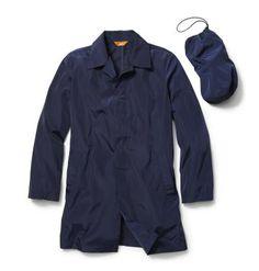 Joe Fresh Men's Navy Packaway Mac Coat