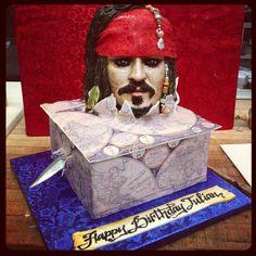 Pirate of Caribbean  - Cake by Svetlana